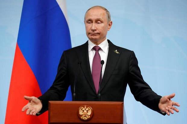 Об огромной потере Владимира Путина
