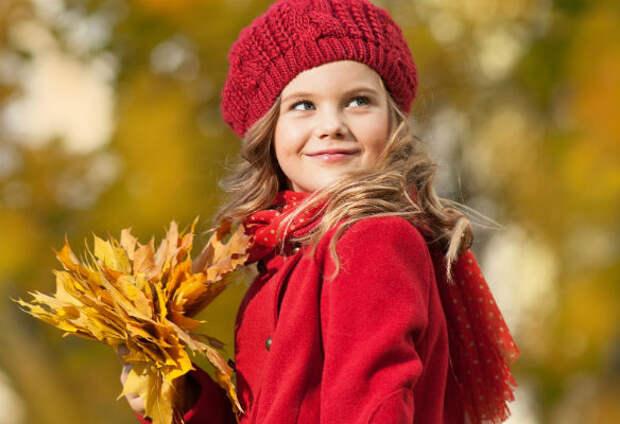 Самые модные осенние луки для девочки-дошкольницы