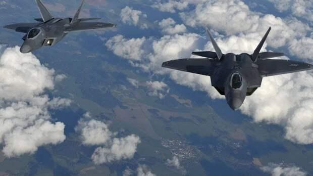 Два истребителя F-15 США нанесли удар запрещёнными боеприпасами в Сирии