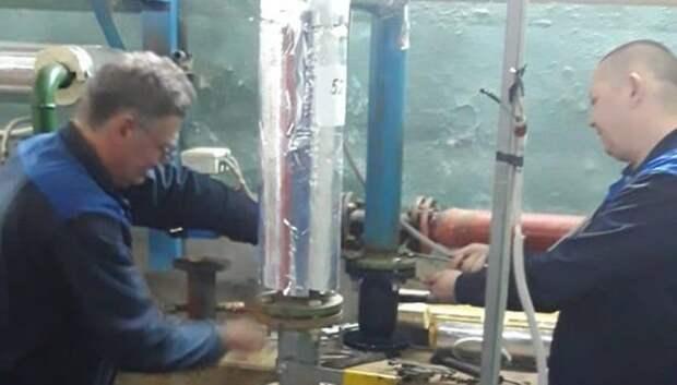 Насос заменили в доме Подольска для улучшения подачи воды