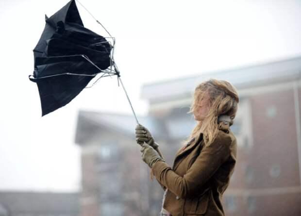 В Астрахани объявлено штормовое предупреждение из-за непогоды