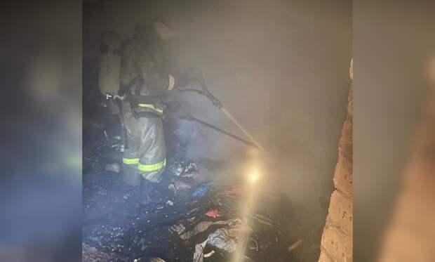 Один человек погиб при пожаре в Симферополе