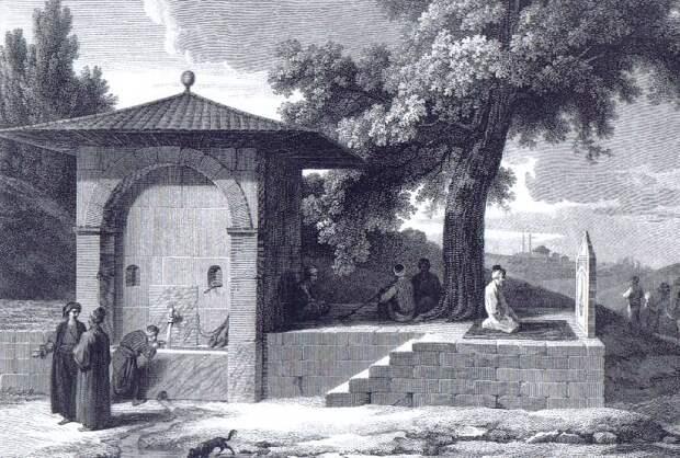 Константинополь на иллюстрациях 19 века.