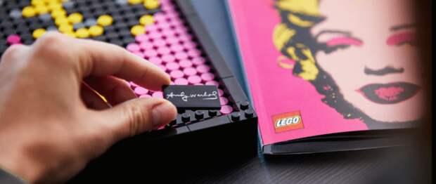 Конструкторы с картинами  Lego Art