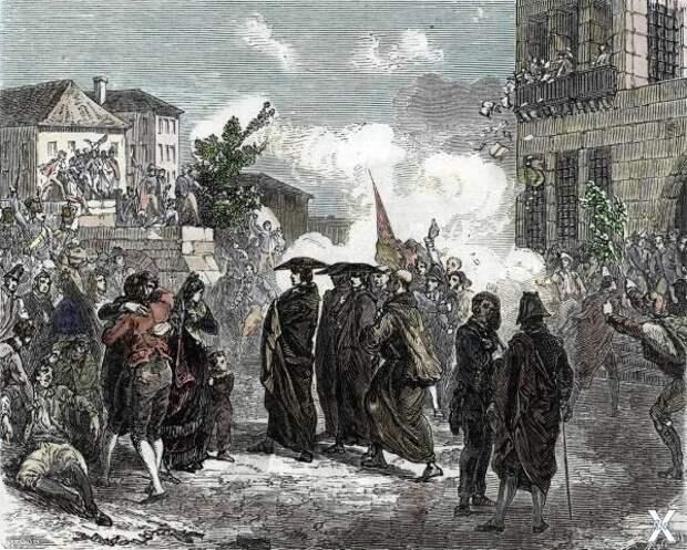 Отмена инквизиции в Испании во время ...