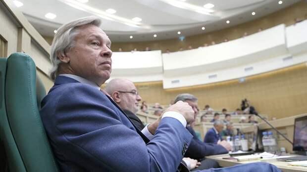 Пушков ответил Кучме на слова о «сговоре» против Украины