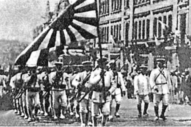 Парад Японии во Владивостоке