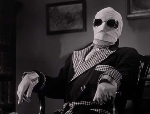 Кадр из фильма *Человек-невидимка*, 1933   Фото: pobedpix.com