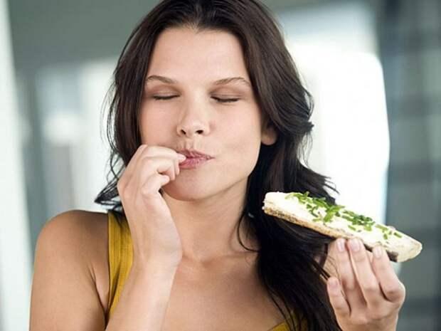 Как приходит насыщение после еды