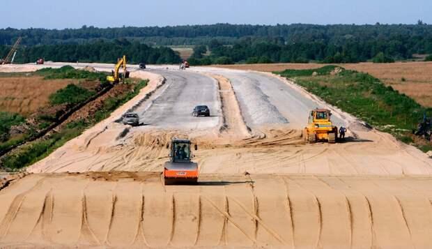 Строительство дорог .Сергиев посад.