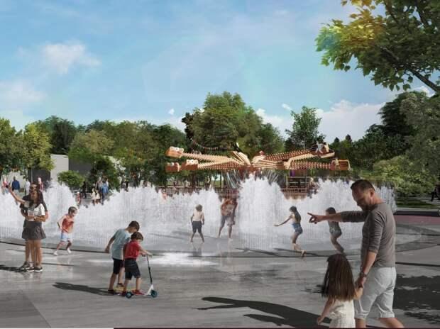 Центральный парк Евпатории хотят отдать фирме с одним сотрудником