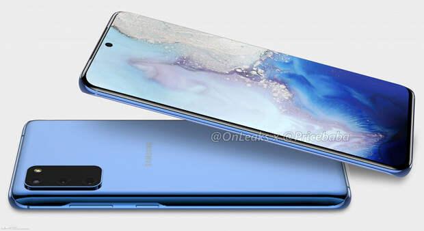 Так будет выглядеть Samsung Galaxy S11e