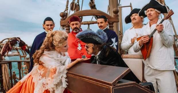 85-летняя Дружинина вернулась к съемкам пятых «Гардемаринов»