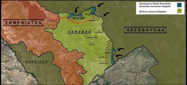 Коротко по Карабаху. 03.10.2020