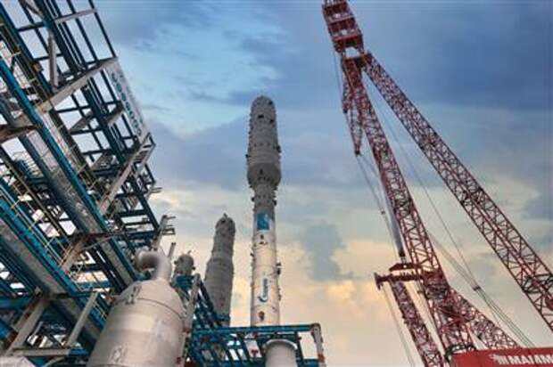 Вторая технологическая линия Амурского ГПЗ запущена в эксплуатацию