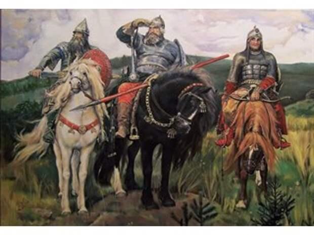 Прототипы русских богатырей
