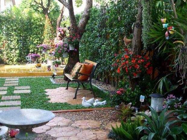Красивые идеи садовых дорожек