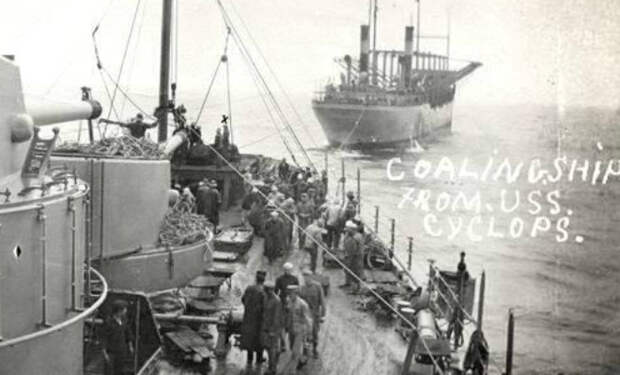Исчезновение Циклопа: в 1918 году военное судно вошло в Бермудский треугольник и пропало