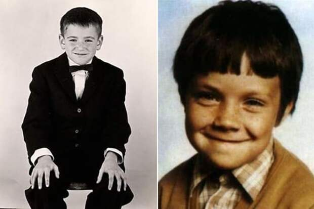 Робин Уильямс в детстве | Фото: 24smi.org