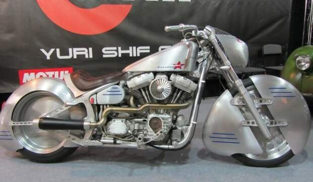 Просто космический мотоцикл «Юрий Гагарин»: кем он создан и для чего