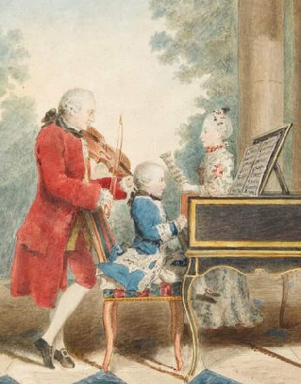 Почему не сложилась карьера Марии Анны Моцарт, одаренной сестры известного композитора