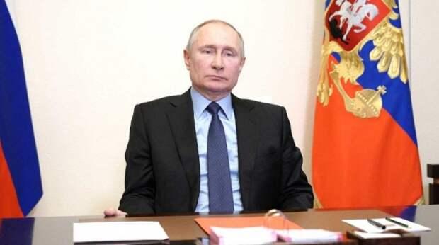 Путин лаконично ответил Байдену