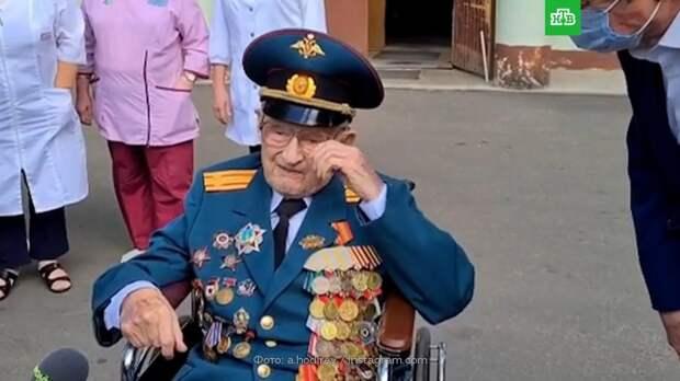 102-летний ветеран ВОВ из Подмосковья победил COVID-19
