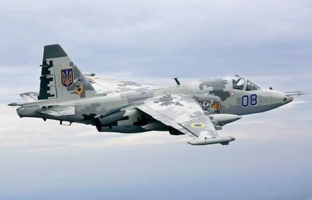 Су -25 ВВС Украины
