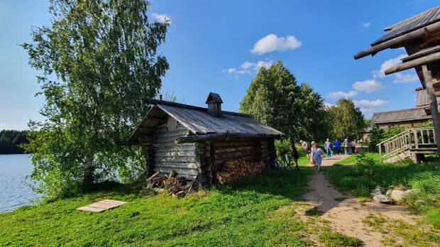 На берегу Свери. Деревня Верхние Мандроги