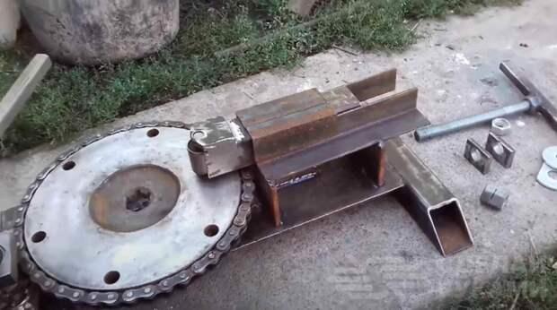 Станок для создания декоративных элементов методом холодной ковки