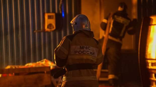 Трехкомнатная квартира загорелась в Приморском районе Петербурга