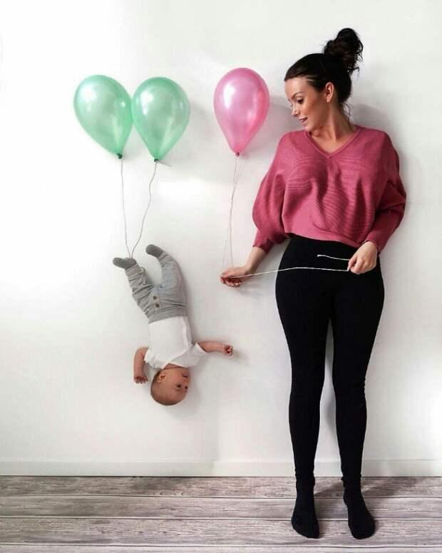 Как фотографироваться с малышами (подборка)