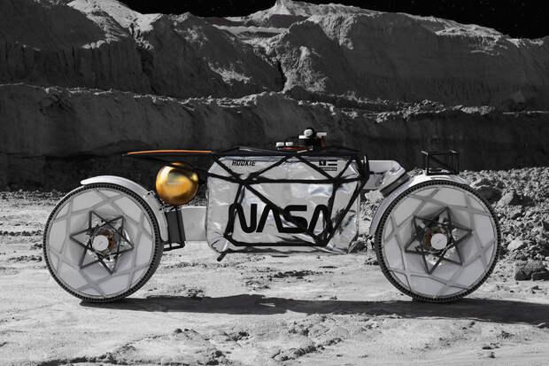Hookie Co. Tardigrade Lunar Motorcycle Concept