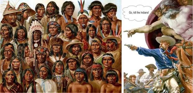 И что вы доказали, разоблачая Благина? Что был Холокост индейцев в США и Холокост русских в России?!