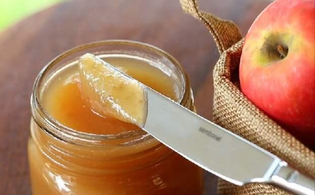 Яблочное желе с ароматом имбиря и лимона. Попробуйте!