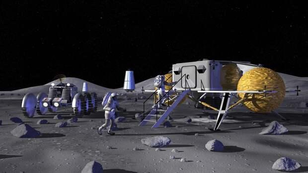 Россия и Китай освоят Луну вахтовым методом