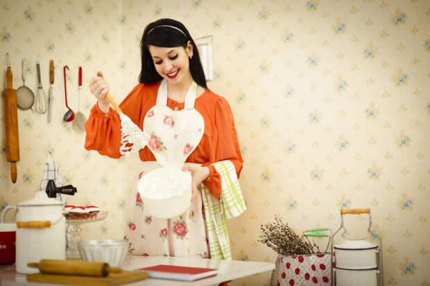 Женщина на кухне — обратная сторона медали…