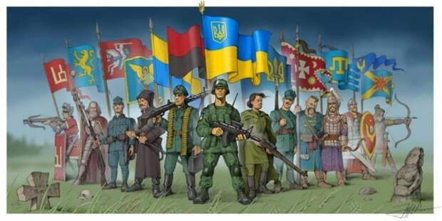 Зачем вообще нужна «Украина» и «украинство»? И когда взойдёт «украинское солнце»?