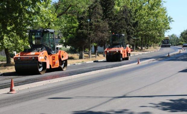 В Севастополе отремонтированы три дороги