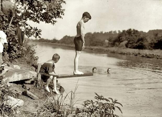 Будешь бегать купаться.... деревня, история, факты