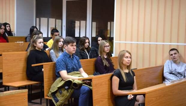 В «Школе молодого юриста» Подольска расскажут, как победить оппонента в споре