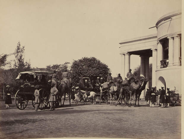 Albom fotografii indiiskoi arhitektury vzgliadov liudei 15