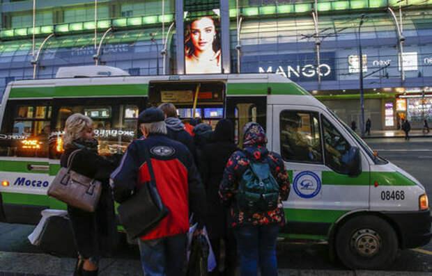 Россияне признали маршрутки самым опасным видом общественного транспорта