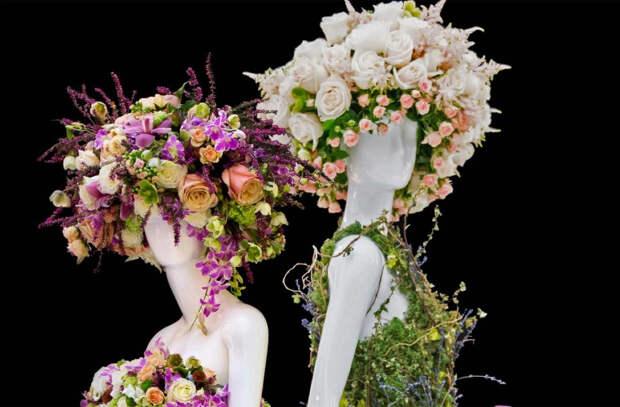 Что могут сотворить любовь к цветам и талант дизайнеров (ВИДЕО)