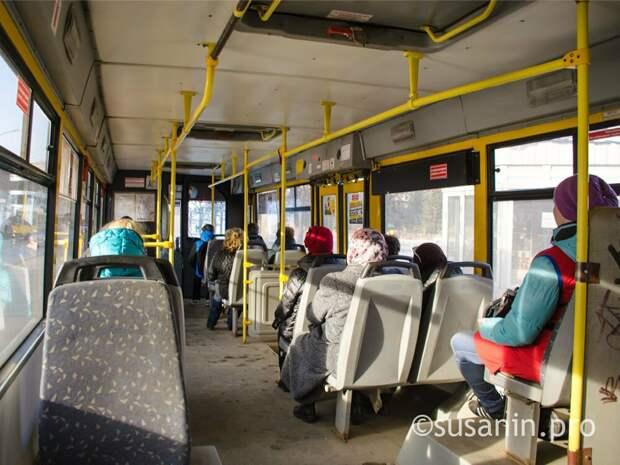 Жители Удмуртии стали меньше пользоваться транспортом