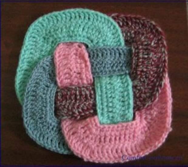 плетение коврика схема 5