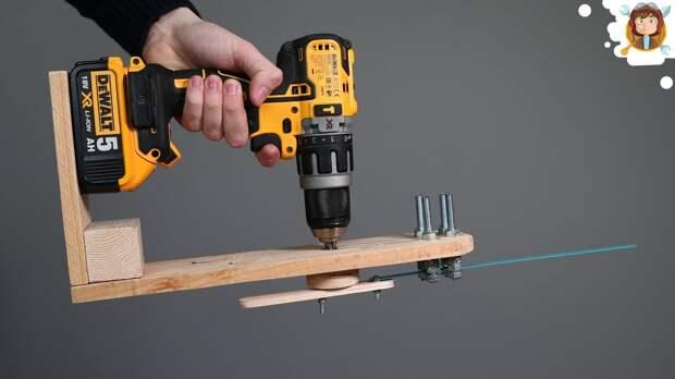 Как сделать электропилу из ручной дрели