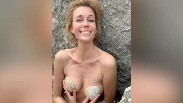 42-летняя актриса Любовь Толкалина обнажилась для образа Русалочки