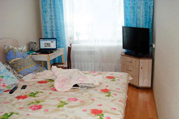 Мое спально-рабочее место