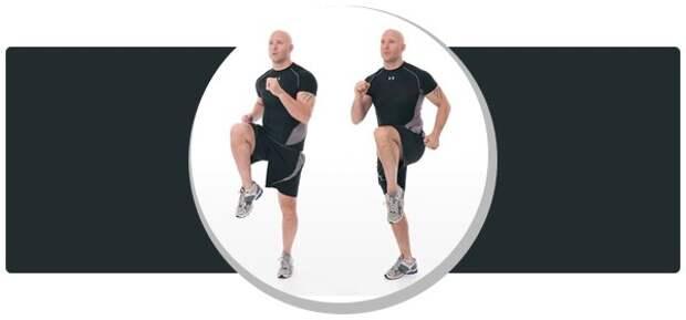 Обратите внимание на постановку ног, для правильной техники выполнения упражнения.